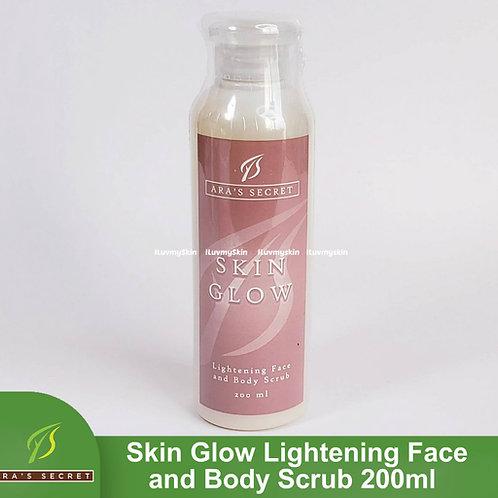 Ara's Secret Skin Glow Lightening Face & Body Scrub 200ml