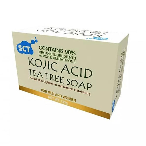 SCT Kojic Acid Tea Tree Whitening Soap  (Organic) 135g