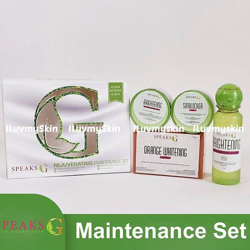 Speaks G Rejuvenating Maintenance Set