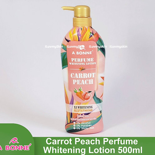 A Bonne Carrot Peach Perfume Whitening Lotion 500ml