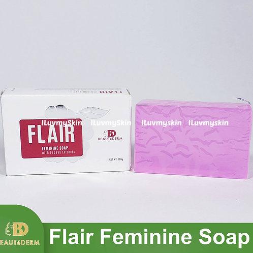 Beautederm Flair Feminine Soap with Papaya Extract 100g