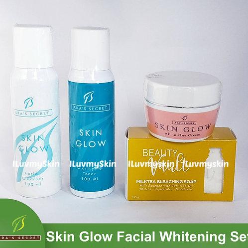 Ara's Secret Skin Glow Facial Whitening Set