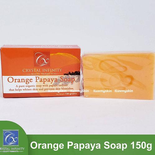 Crystal Infinity Orange Papaya Soap 150g
