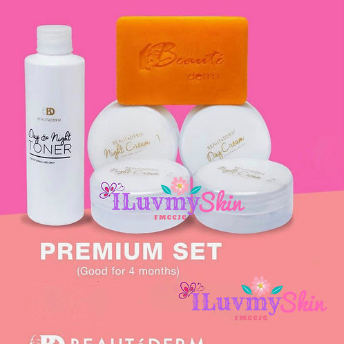 Beautederm Premium Beaute Set (Good for 4 months)
