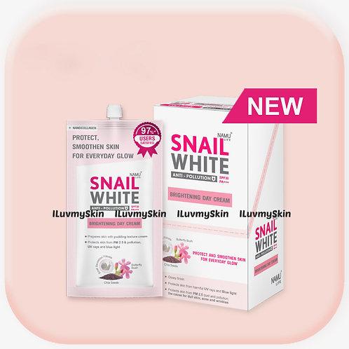 Snail White Brightening Day Cream SPF 30+/PA+++ 7ml x 6