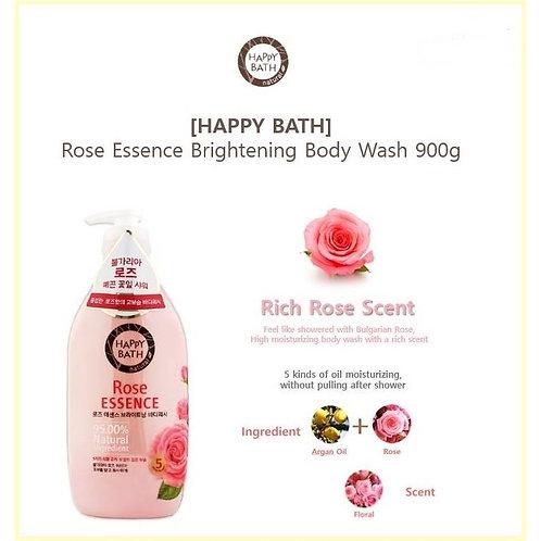 HAPPY BATH - Rose Essence Brightening Body Wash 900g