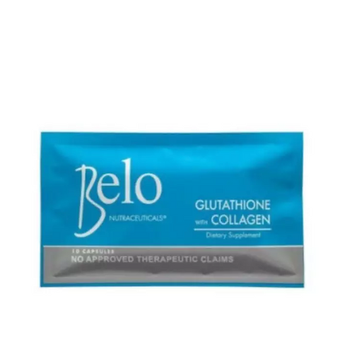 Belo Nutraceuticals Glutathione + Collagen (10 capsules)