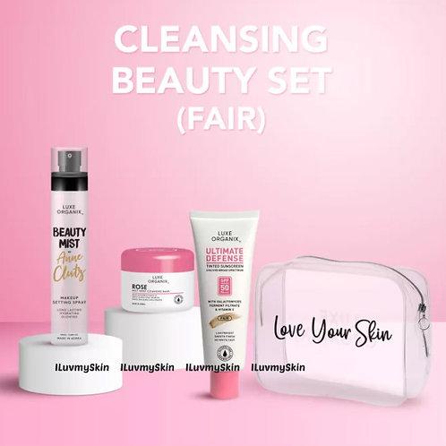 Luxe Organix Cleansing Beauty Set (Fair)