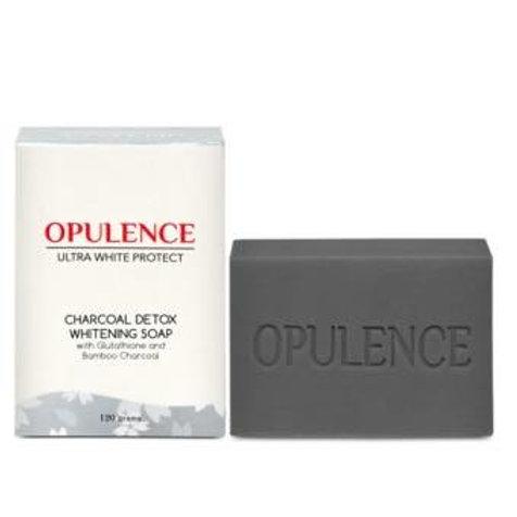 Opulence Ultrawhite Protect Charcoal Detox Whitening Soap 120g
