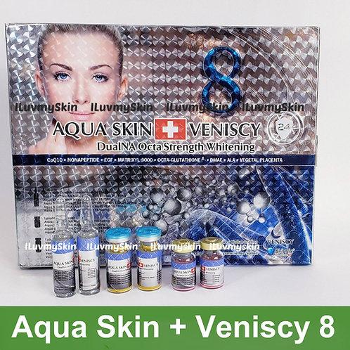Aqua Veniscy 8 DualNa Octa Strength Skin Whitening