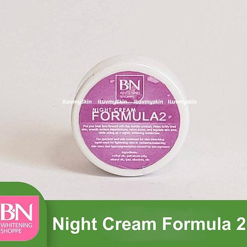 BN Night Cream Formula 2