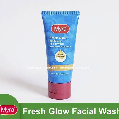 Myra Fresh Glow Whitening Facial Wash 50ml