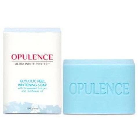 Opulence Ultrawhite Protect Glycolic Peel Whitening Soap 120g