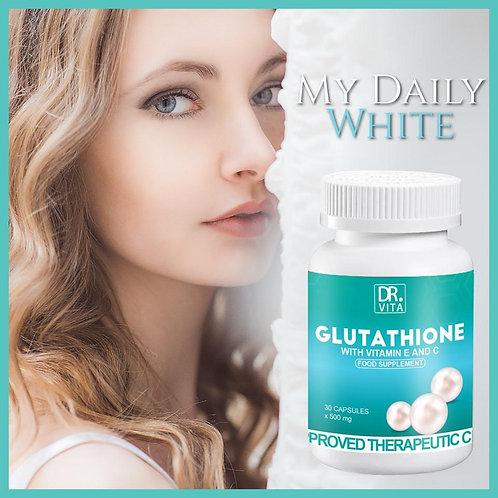 Dr Vita Glutathione with Vitamin C and E  (30 capsules x 500mg)
