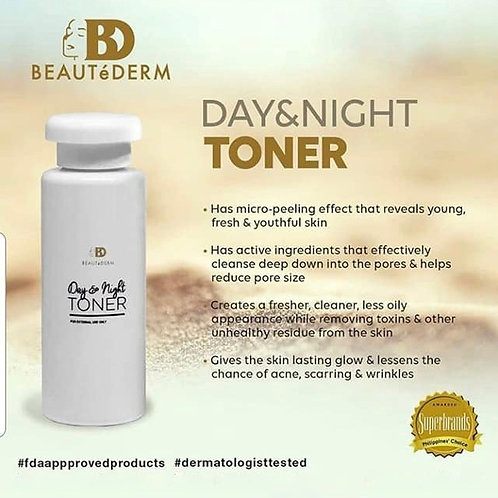 Beautederm Day and Night Toner 500ml