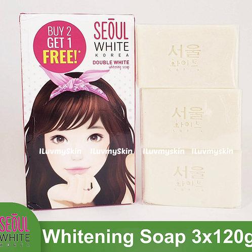 Seoul White Korea Double White Whitening Soap (Triple Pack) 120g