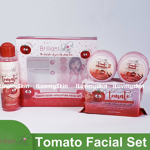 Brilliant Skin Essentials Tomato Natural Rejuvenating Facial Set