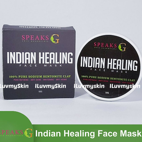 Speaks G Indian Healing Clay Mask 50g