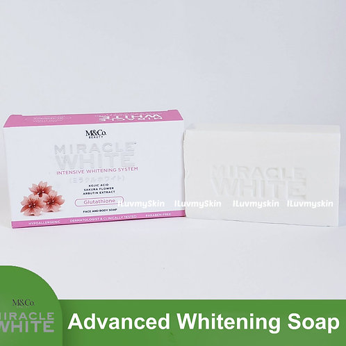 Miracle White Advanced Whitening Soap