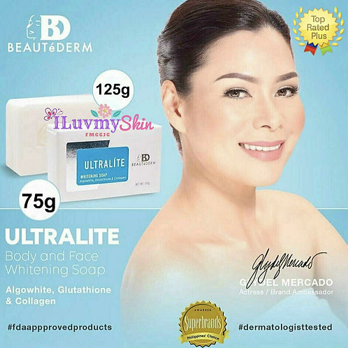 Beautederm Ultralite Whitening Body Soap 75g