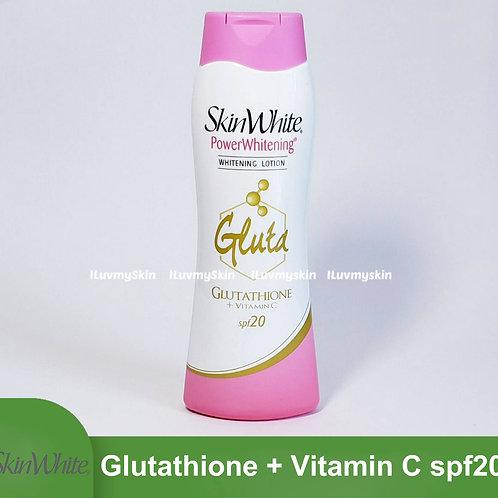 Skin White Glutathione + Vitamin C Spf20 200ml
