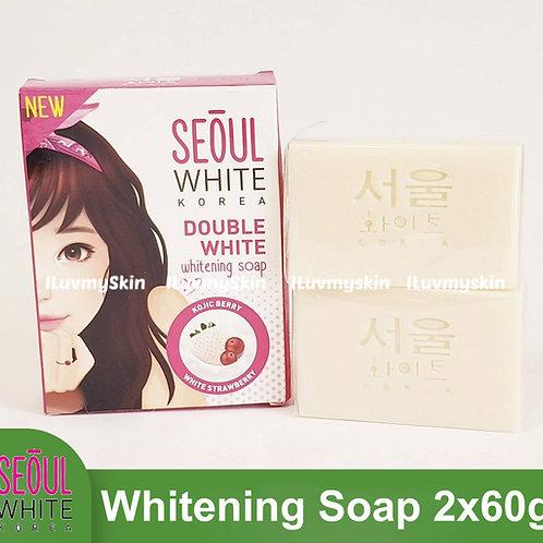 Seoul White Korea Double White Whitening Soap (Double Pack) 60g