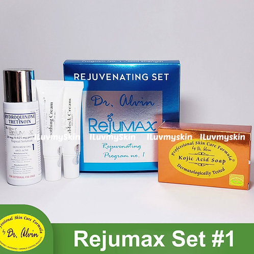 Dr Alvin Rejumax #1 Set (for Sensitive Skin) by PSCF