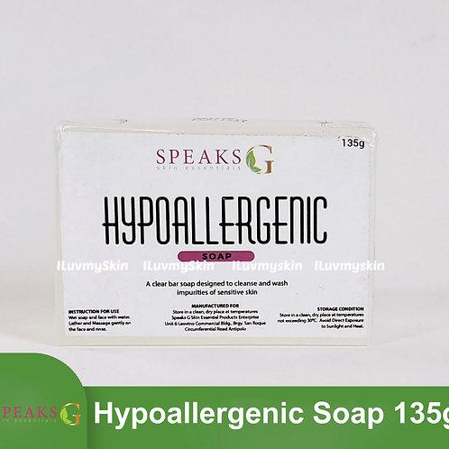 Speaks G Hypoallergenic Soap 135g