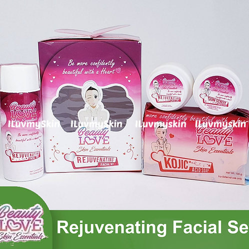 Beauty Love Skin Essentials Rejuvenating Facial Set
