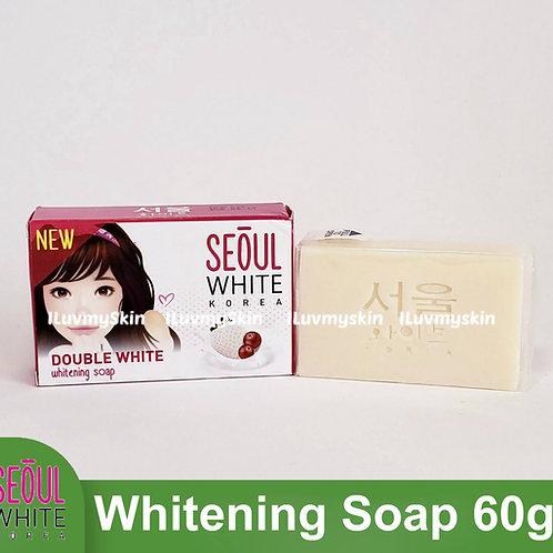 Seoul White Korea Double White Whitening Soap (Single Pack) 60g