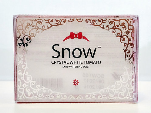 SNOW Crystal White Tomato Whitening and Anti-aging Soap (135g)