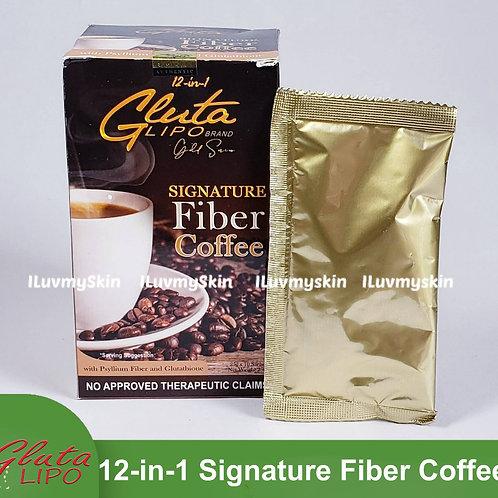 Gluta Lipo Gold Series (Signature Fiber Coffee) 10 sachets