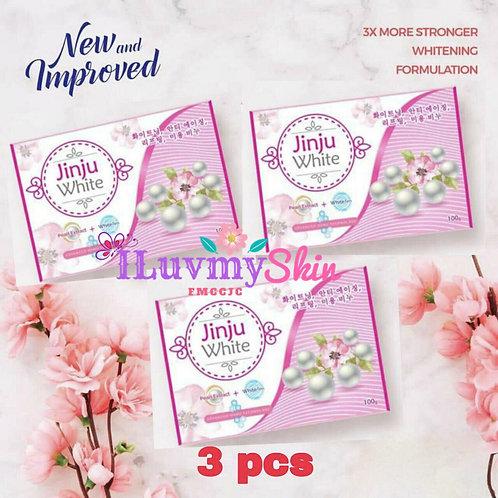 JINJU White Soap (3 bars)