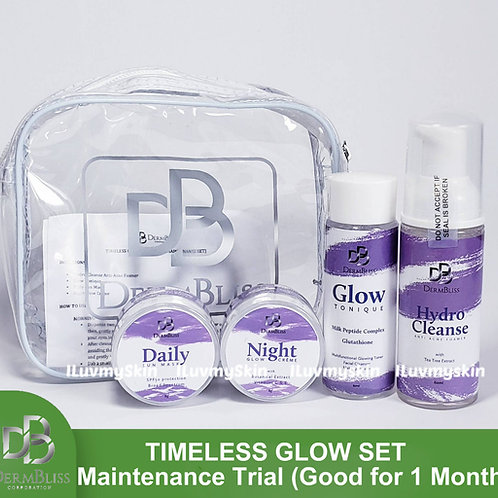 DermBliss Timeless Glow Set (Maintenance Trial - Good for 1 Month)