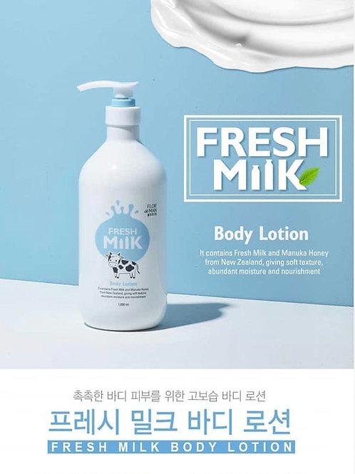 Flor De Man Fresh Milk Body Lotion 1000ml