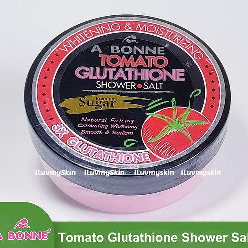 A BONNE Tomato Glutathione Shower Salt Sugar 350g