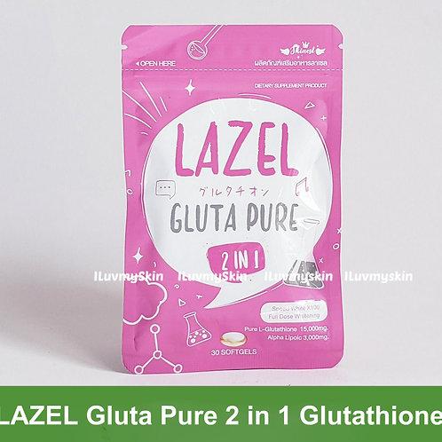 Lazel Gluta Pure 2 in 1 Glutathione (30 capsules)