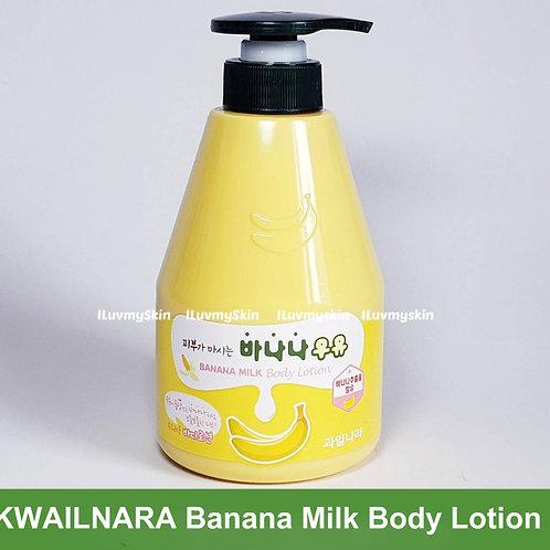 Kwailnara Banana Milk Body Lotion 560ml