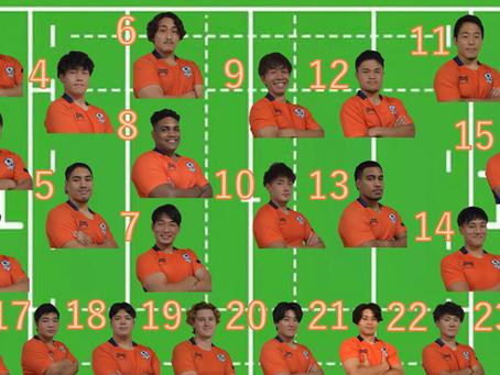 関東大学リーグ戦2部第2節 白鵬大学戦