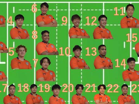 関東大学リーグ戦2部第1節 立正大学戦