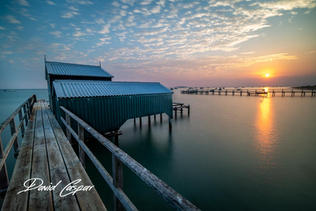 Shelley Beach Jetty Sunrise