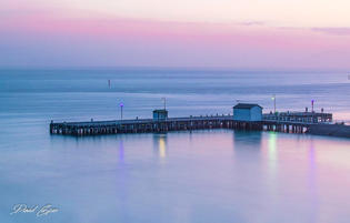 Dawn at Sorrento Pier