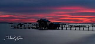 Shelley Beach Red Sunrise