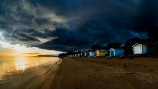 Dark Skies Ahead - Tyrone Foreshore