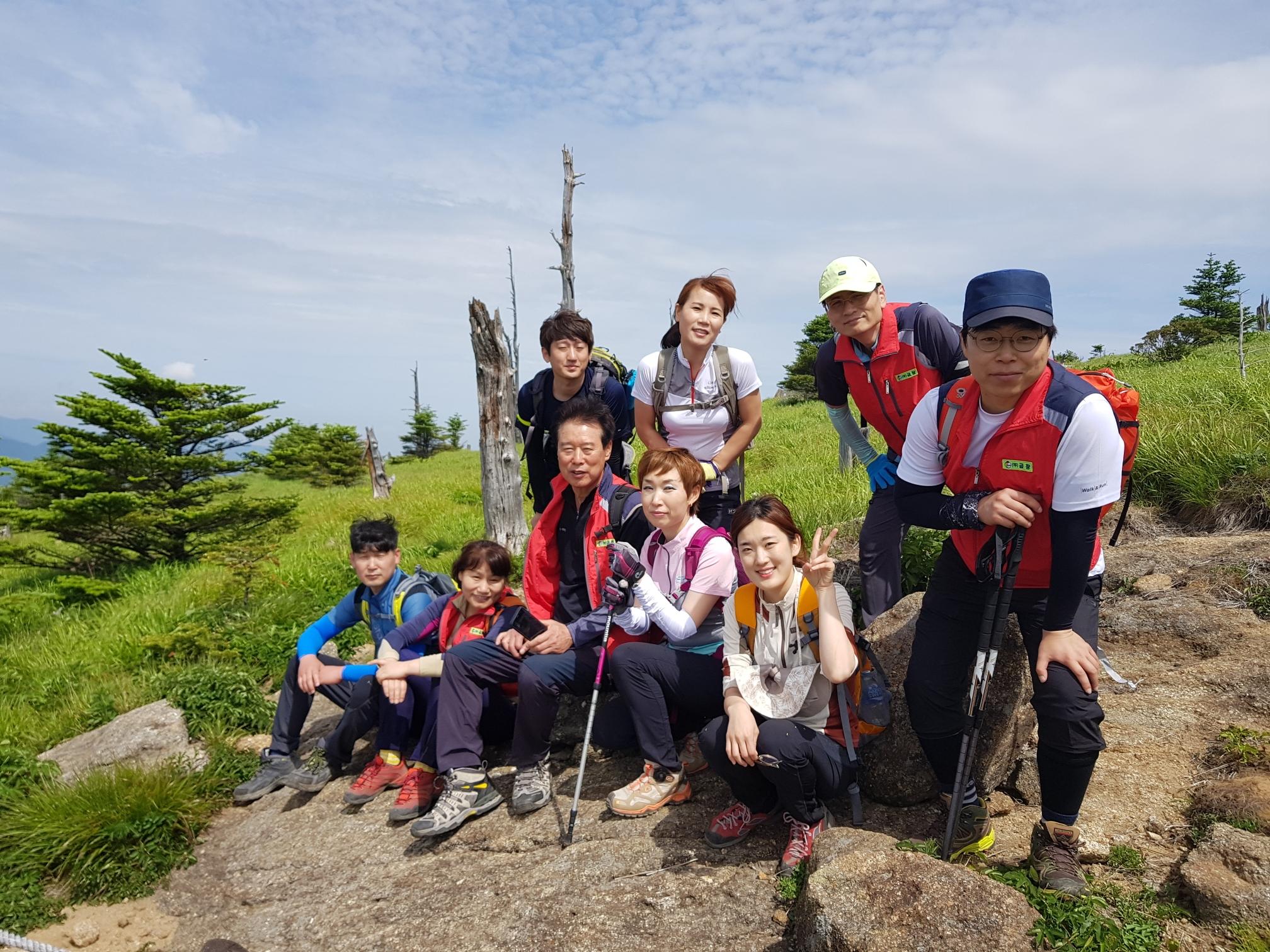 2017년 지리산산행(천왕봉등정)