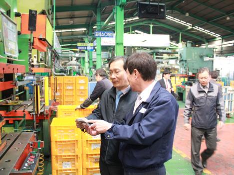 황규연 한국산업단지공단 이사장 방문