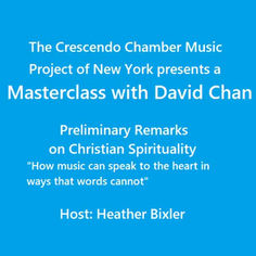 David Chan Masterclass