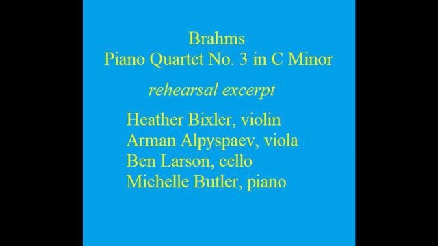 A Bit of Brahms!