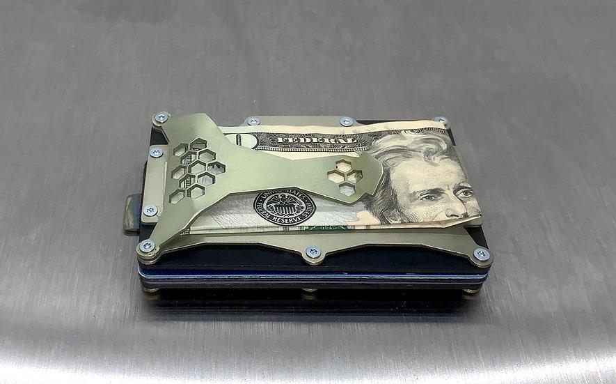 Nova X Titanium HoneyComb Wallet
