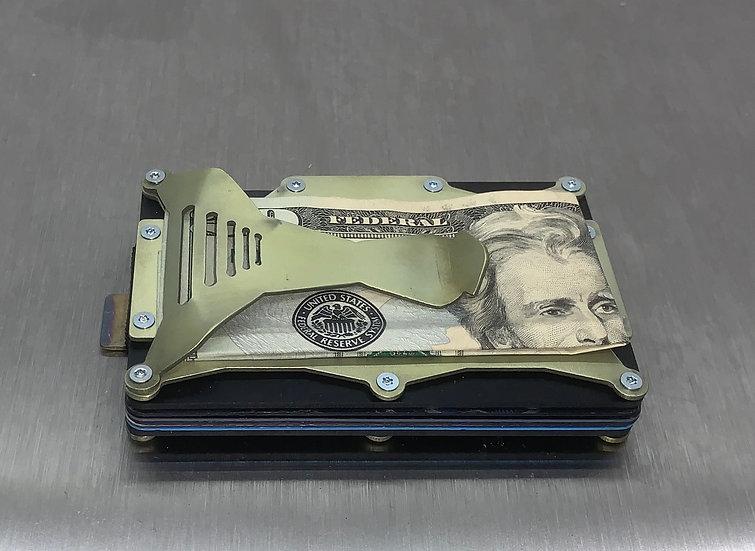 Nova X Titanium Offset Lines Wallet